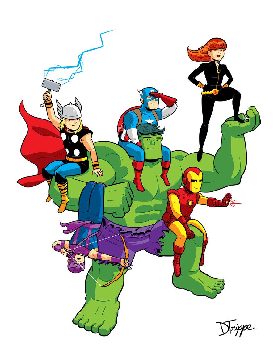 Avengers Assembled por dryponder