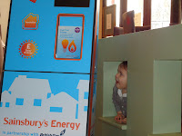 Big Boy next to the Sainsbury's Instore Energy Stand