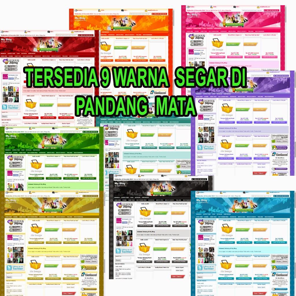 Premium Themes  wordpres Toko online