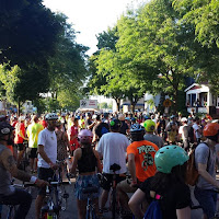 Riverwest 24 Hour Bike Race - Start Line