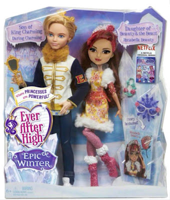 TOYS : JUGUETES - EVER AFTER HIGH Epic Winter - Rosabella Beauty & Daring Charming Pack | Muñeca - Doll  Producto Oficial 2016 | Mattel | A partir de 6 años Comprar en Amazon España & buy Amazon USA