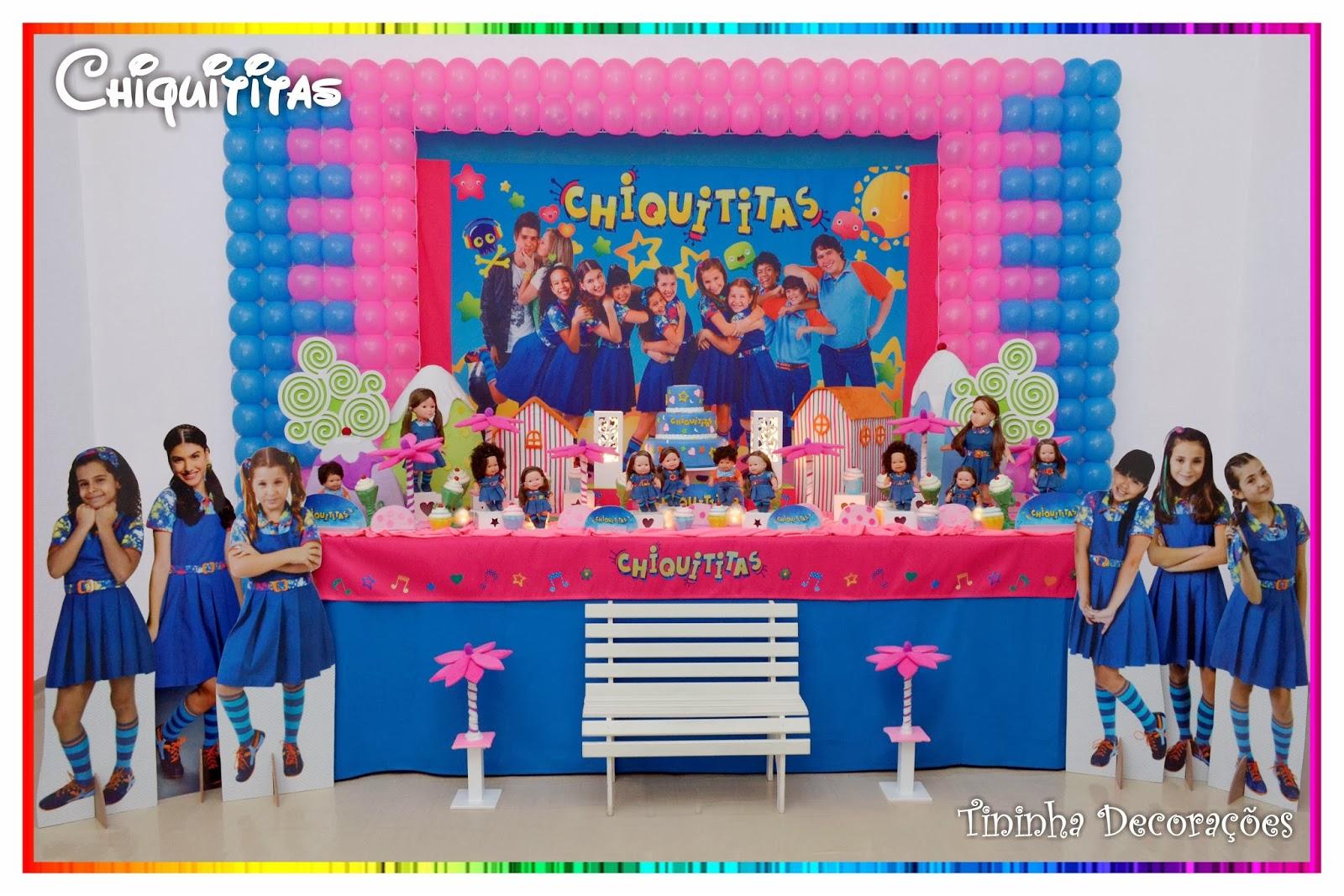 decoracao festa chiquititas:Tininha Decorações: Chiquititas