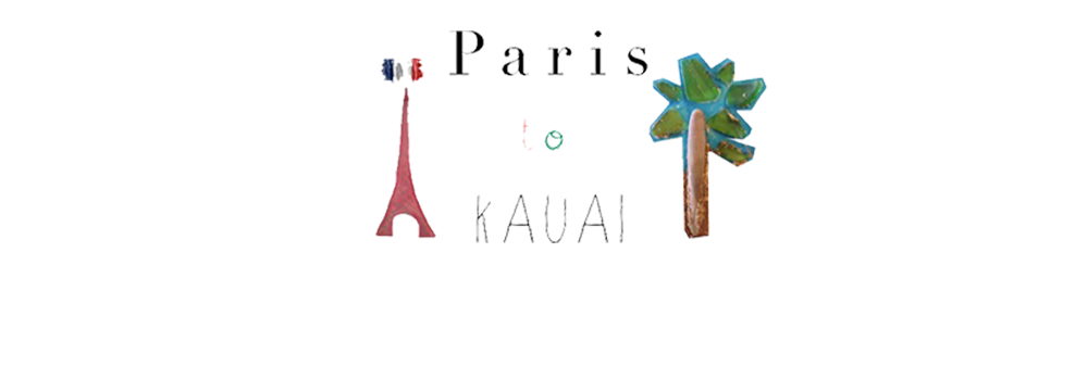 Paris to Kauai
