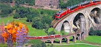 Kereta Bernina Express Swiss