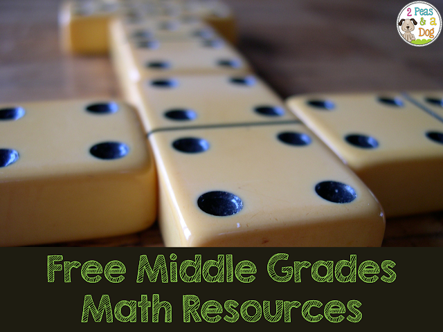 A list of interesting and free math resources to support upper grades and middle school math classrooms.