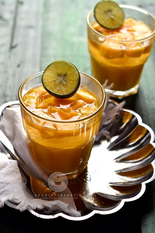 Puding Jelly Mangga