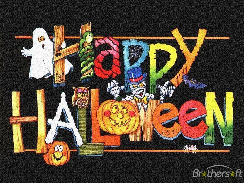 Happy Halloween Greetings Cards Images