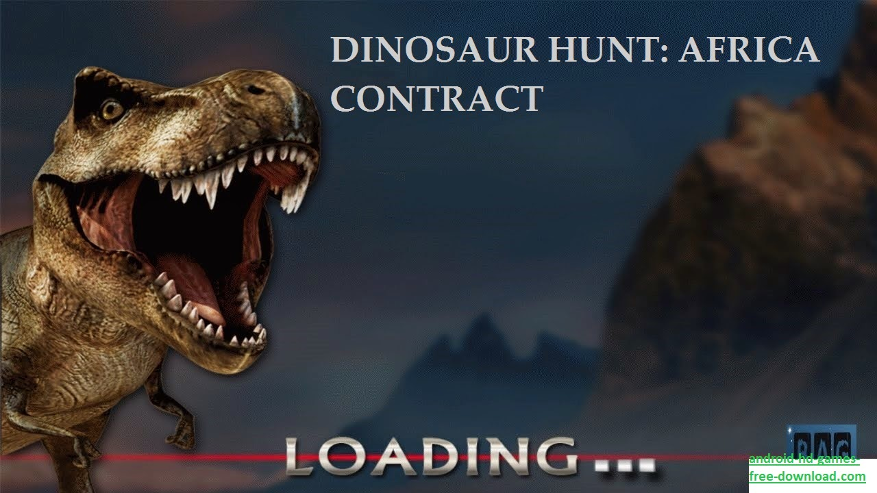 Dinosaur Hunt Africa Contract APK MOD