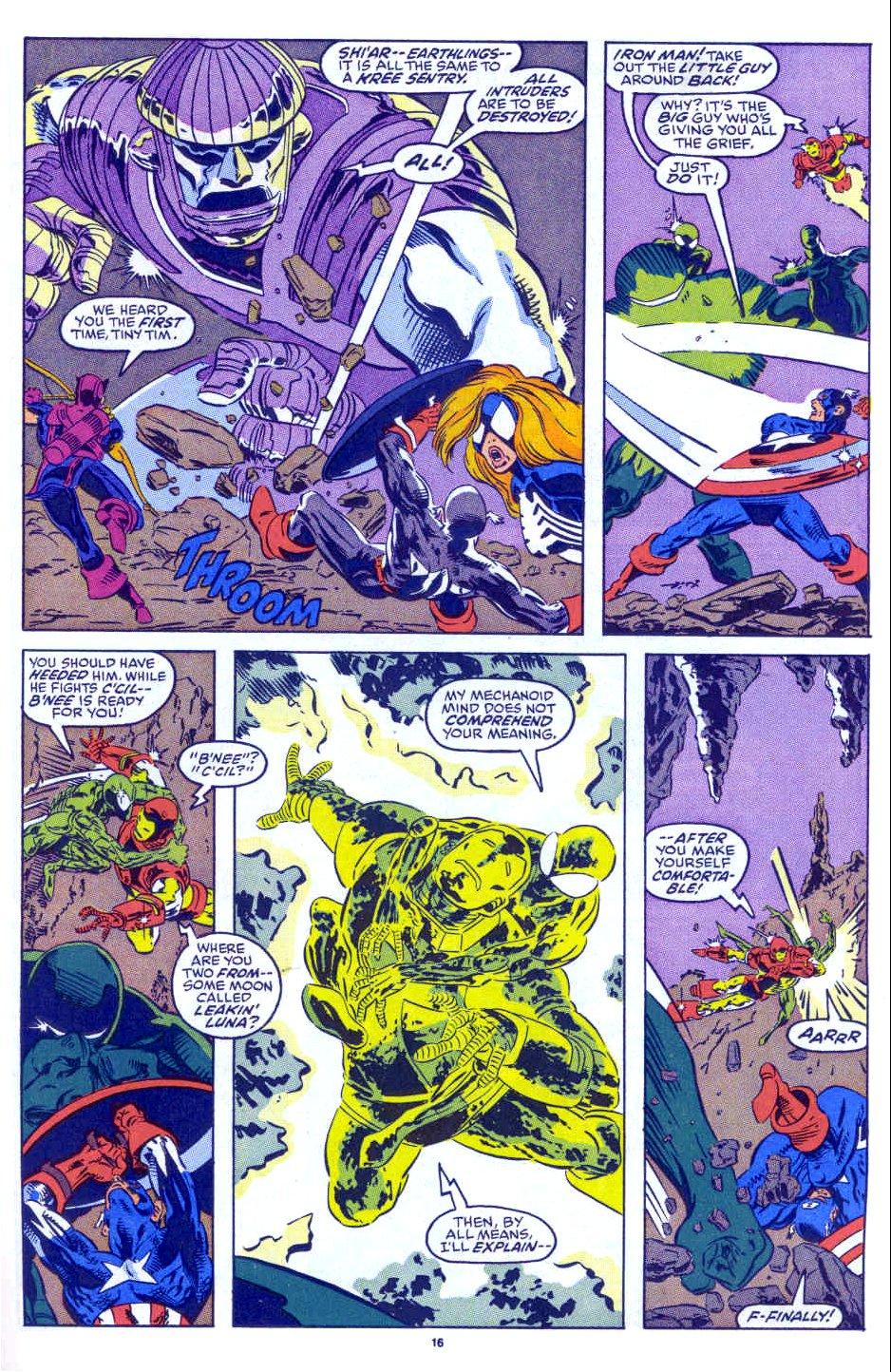Captain America (1968) Issue #398b #332 - English 13