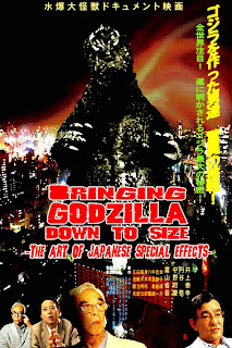 Bringing Godzilla Down to Size: The Art of Japanese Special Effects poster