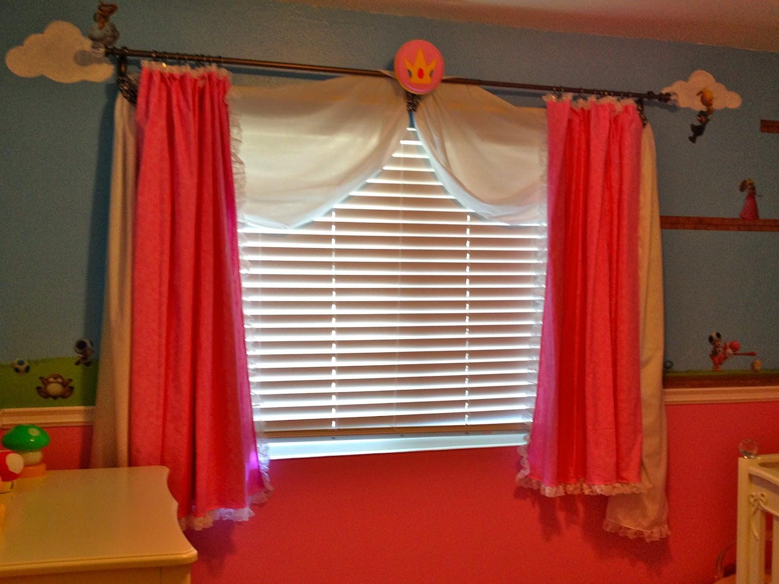 Mario Bedroom Decor Super Mario Princess Peach Nursery