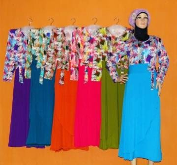 Gamis Jersey Terbaru 2015 Gkm4656 Grosir Baju Muslim