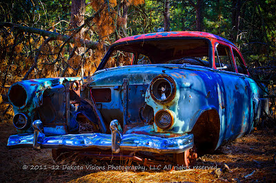 High Dynamic Range HDR by Dakota Visions Photography LLC Black Hills SD antique cars