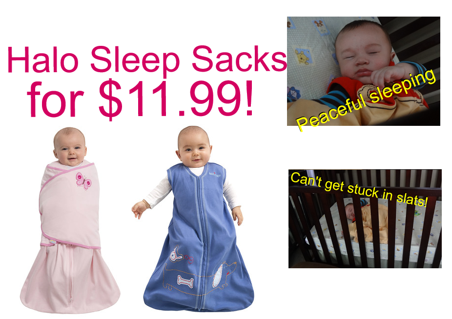 HOT Deal on Halo Sleep Sacks!!