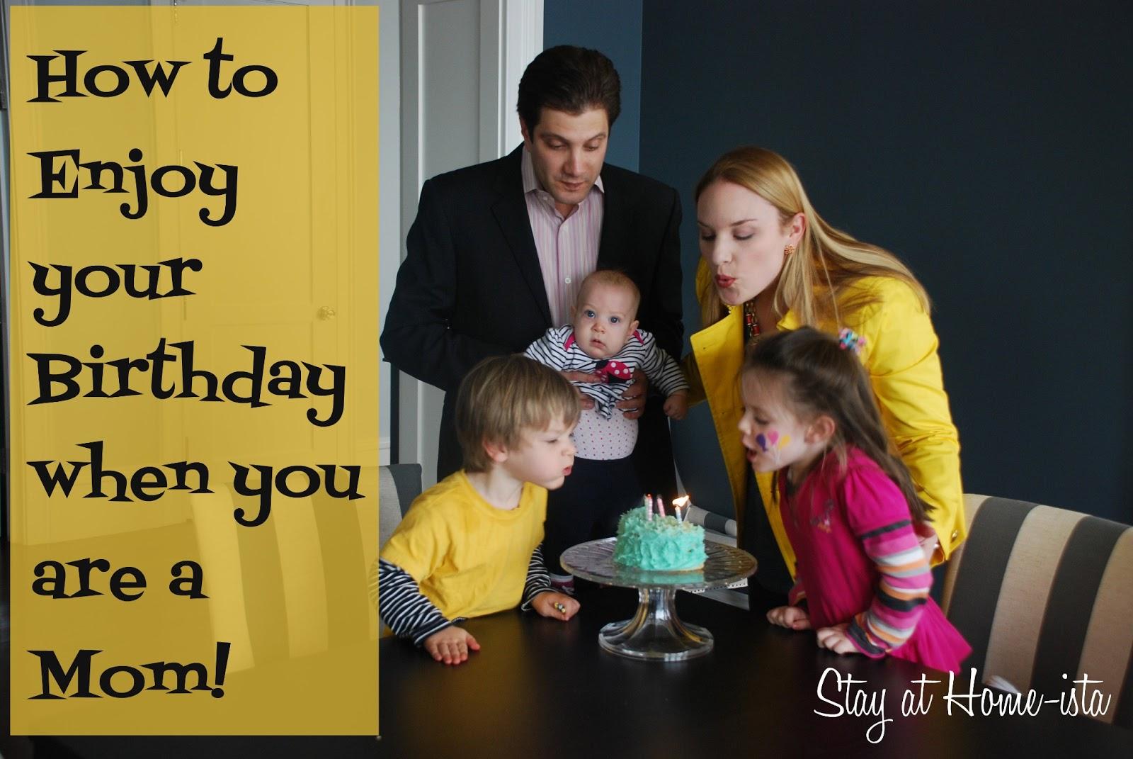 How to Enjoy Your Birthday