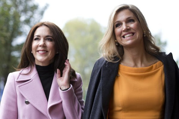Queen Maxima of The Netherlands and Crown Princess Mary of Denmark attend the 3rd World Conference of Women's Shelters