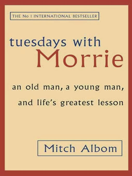 tuesdays with morrie reaction Free essay: reflection on tuesdays with morrie tuesdays with morrie is a heart- touching story of a retired brandeis university sociology professor, morrie.