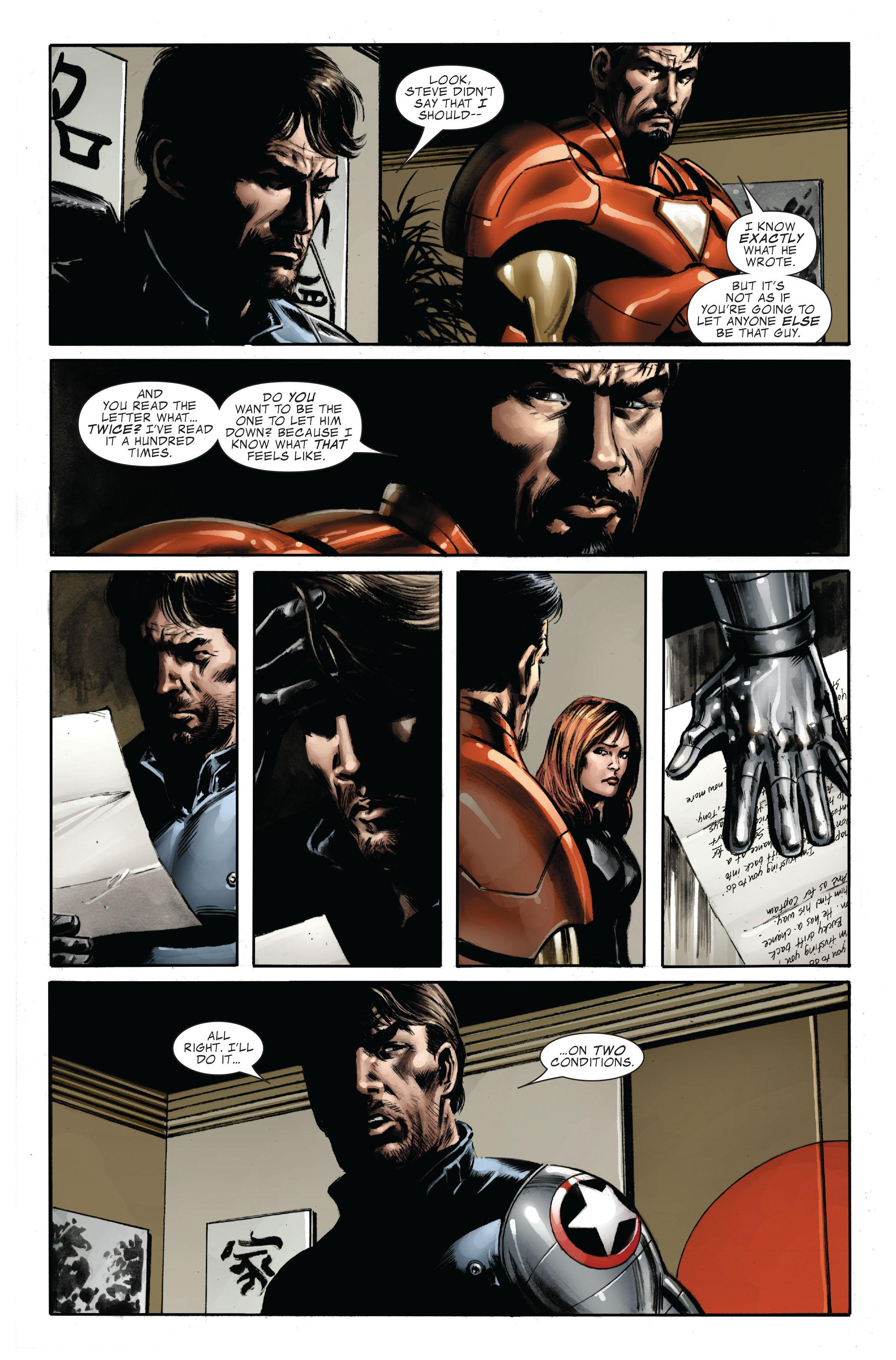 Captain America (2005) Issue #33 #33 - English 23