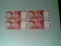uang sambung 100000