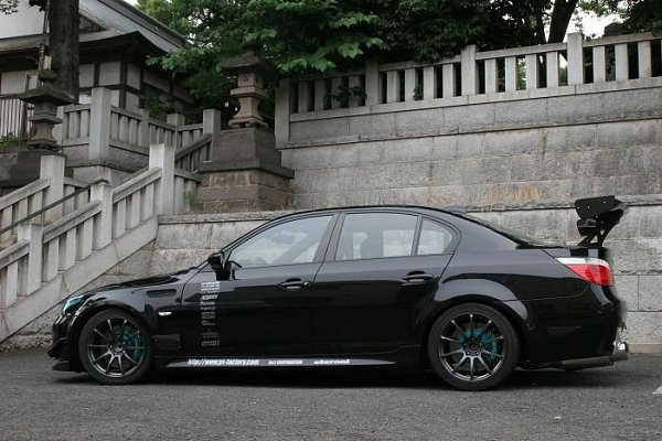 Bmw Rims Style >> Modified Cars: BMW M5 Modified for Sports
