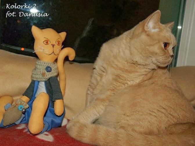 Kolorek i jego kot :)