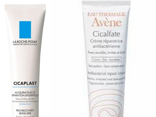Crèmes réparatrices : Cicalfate VS Cicaplast