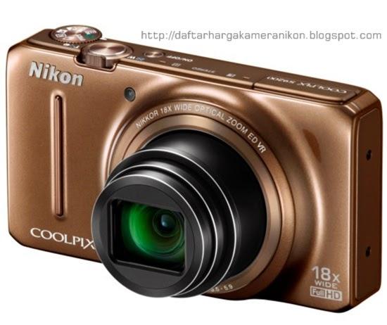 Harga dan Spesifikasi Kamera Nikon Coolpix S9200 Terbaru