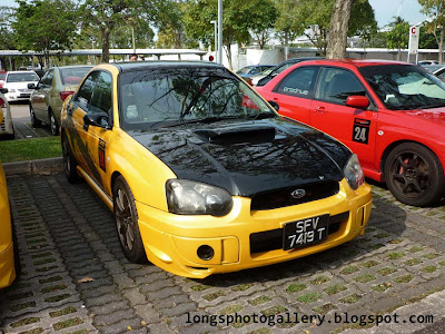 Modified Subaru Impreza WRX