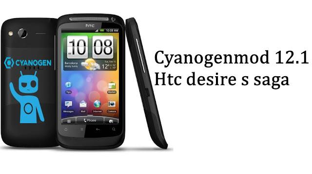Android lollipop on Htc desire S saga cyanogenmod 12.1 rom