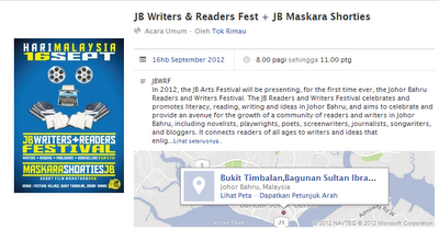 JB Writers + Readers Festival
