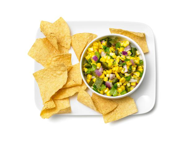 The Supreme Plate: Spicy Corn Salsa