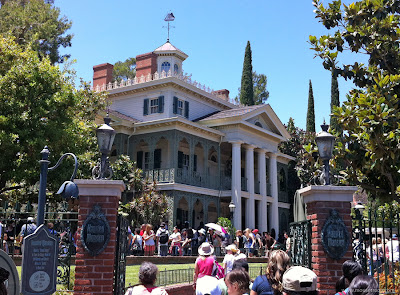 Haunted Mansion Disneyland New Orleans Square