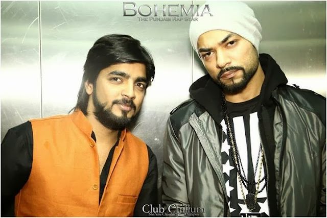 BOHEMIA THE PUNJABI RAP STAR - LIVE CLUB CHILLUM 4