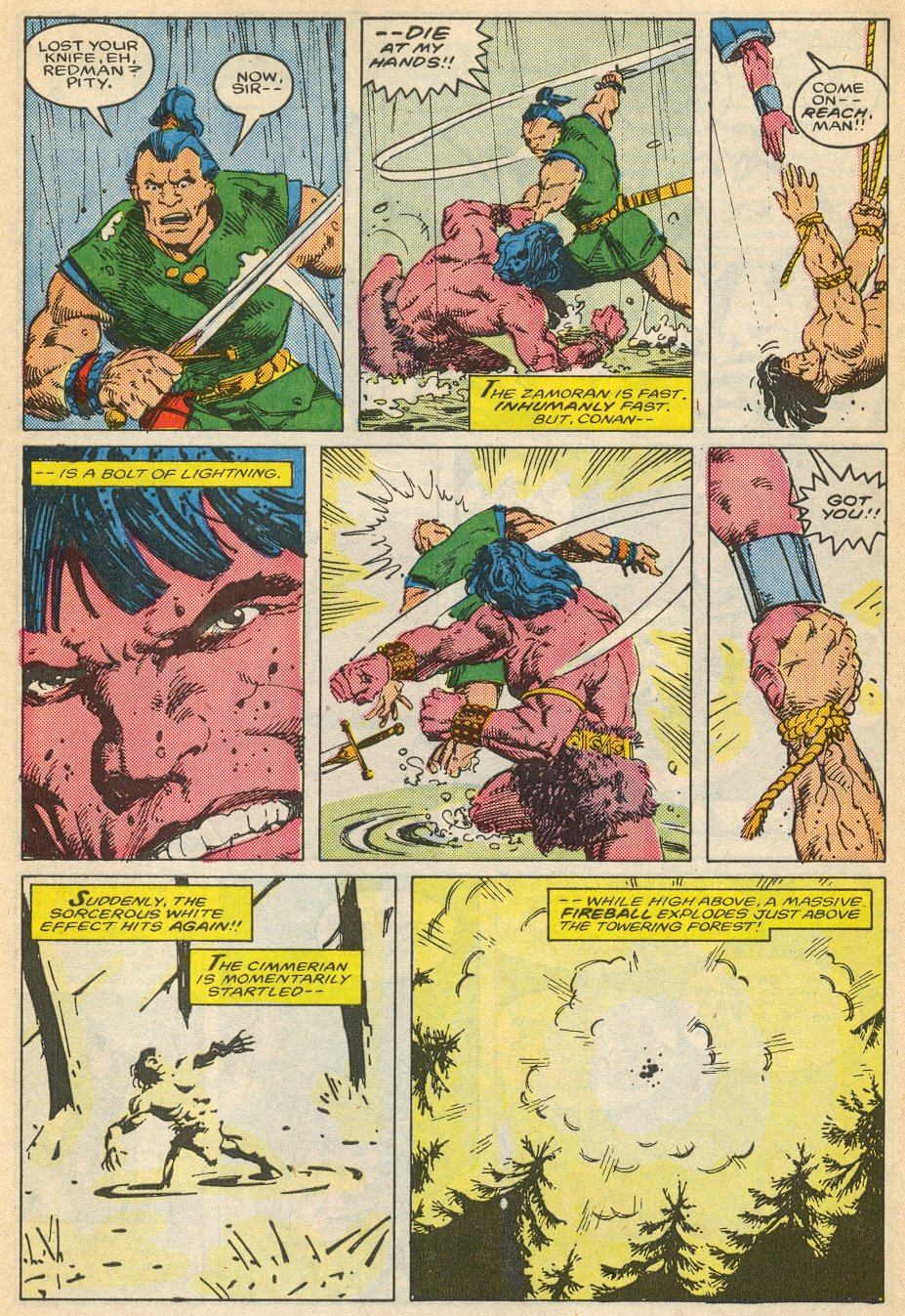 Conan the Barbarian (1970) Issue #195 #207 - English 25
