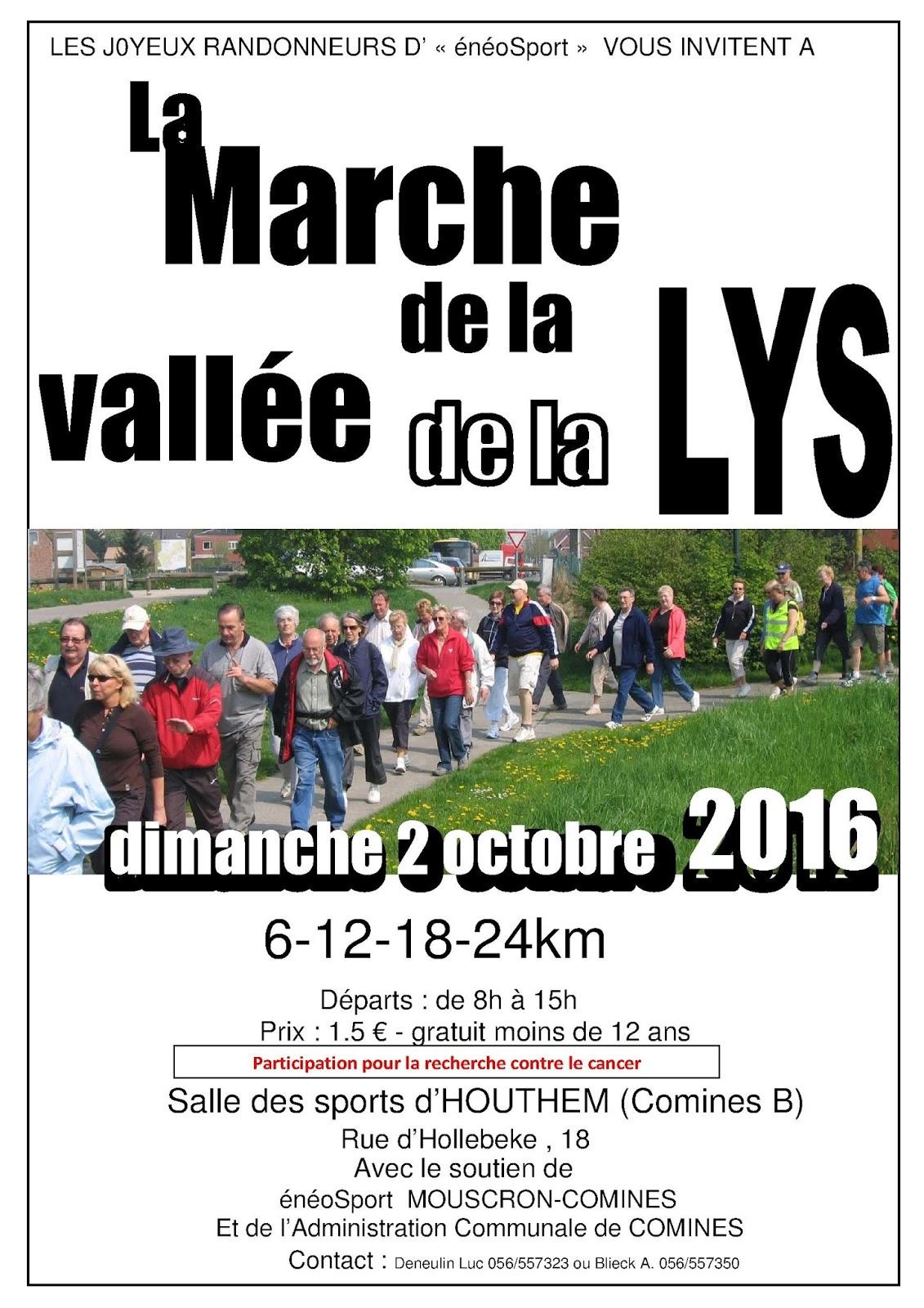 La Marche de la Vallée de la Lys