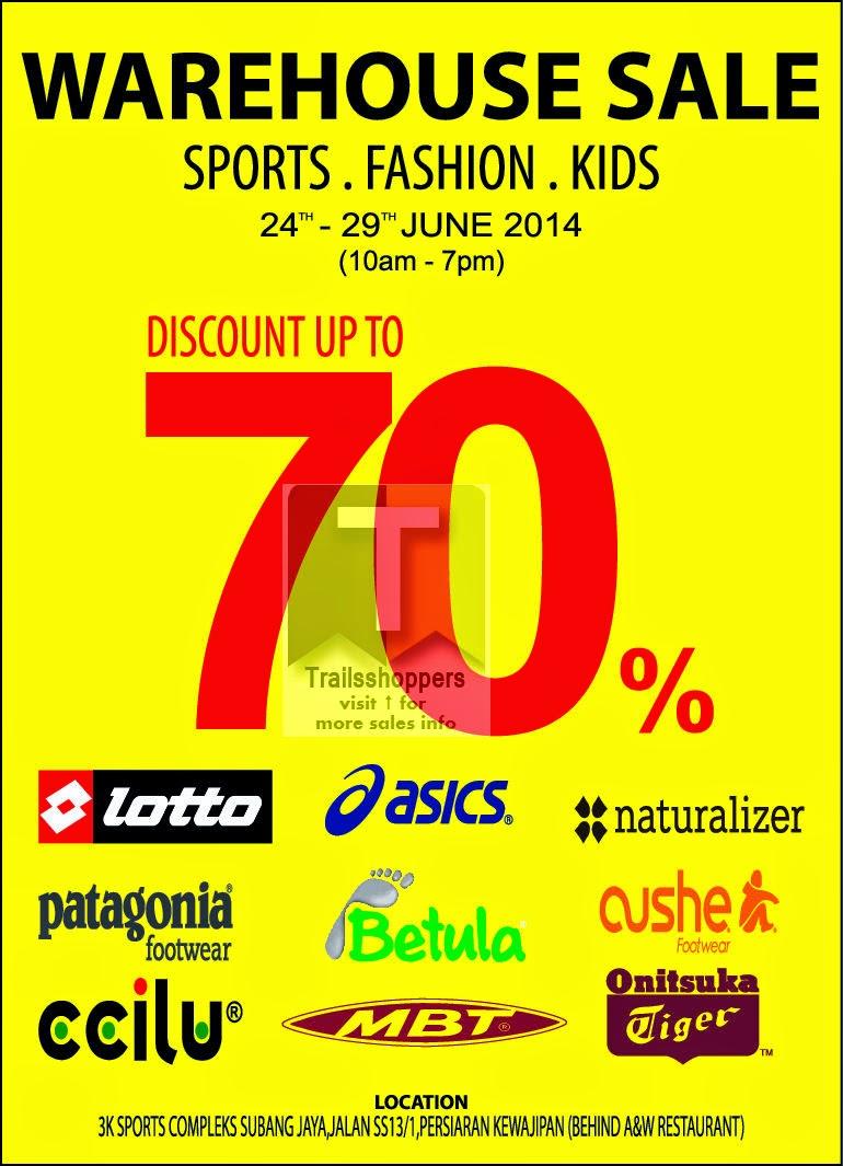 Fashion & Sports Warehouse Sale 3K Sports Complex Subang Jaya