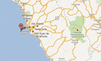 EPICENTRO SISMO EN LIMA PERU HOY 19 DICIEMBRE 2011
