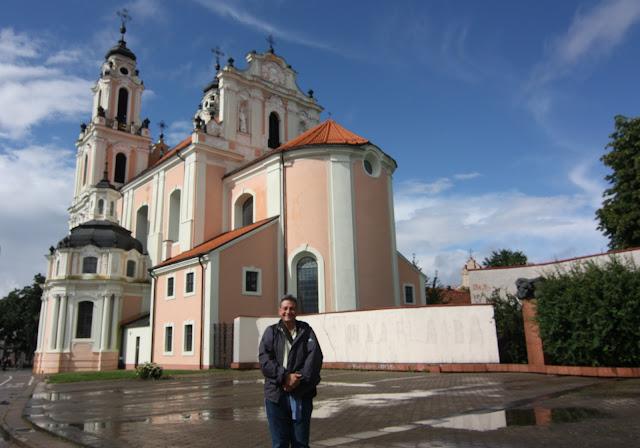 Vilnius, Vilna, Lituania, Santa Catalina
