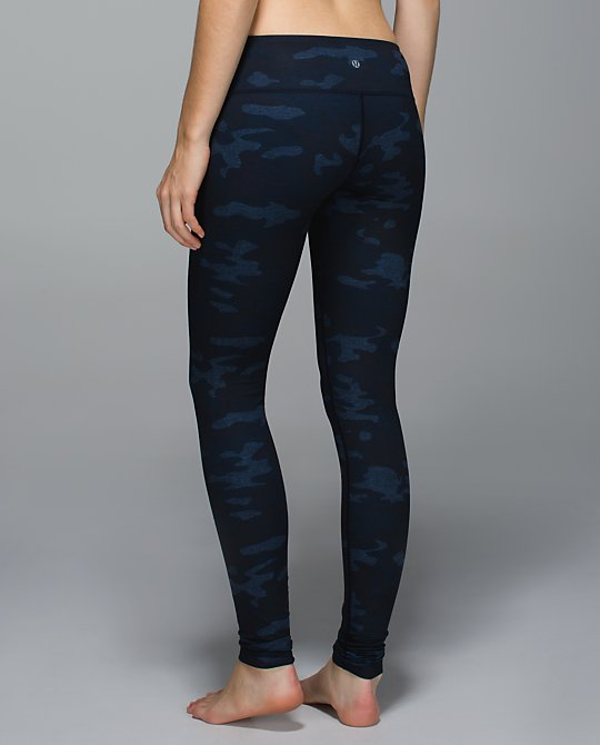 lululemon lotus camo wunder under pants