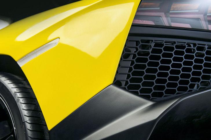 car in Lamborghini Aventador LP720-4 2014