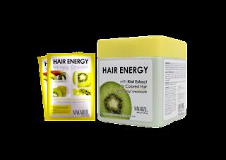 cara merawat rambut rusak dengan hair energy creambath kiwi