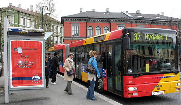 Ônibus Movido A Fezes Em Oslo - Sustentabilidade  é isso!