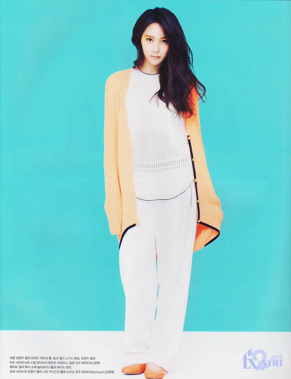 K-POP and J-POP: f(x)'s Krystal in Vogue Korea F(x) Krystal 2013
