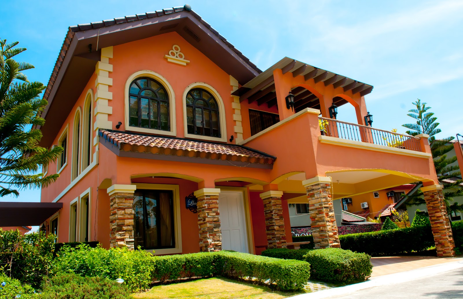 Homes and land philippines italian style homes at ponticelli for Home architecture