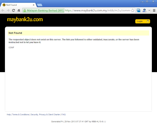 Maybank2u login fail