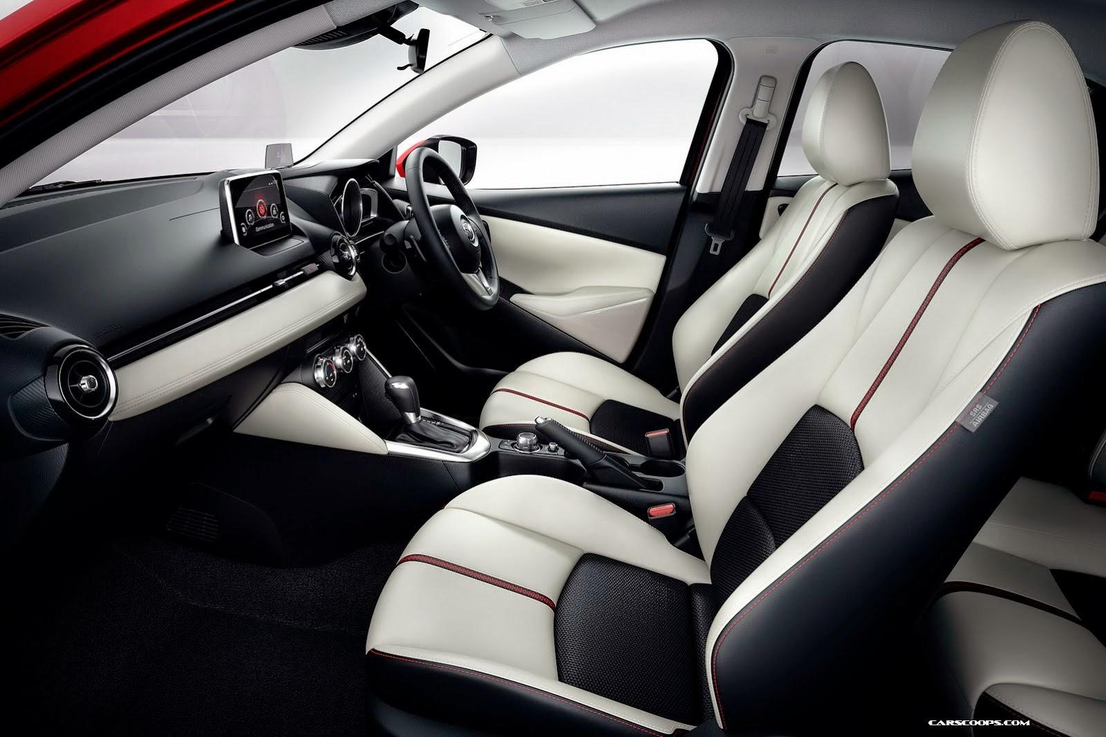 ... SUV deste Mazda 2, o CX-3 que deverá ser apresentada no fim de 2014
