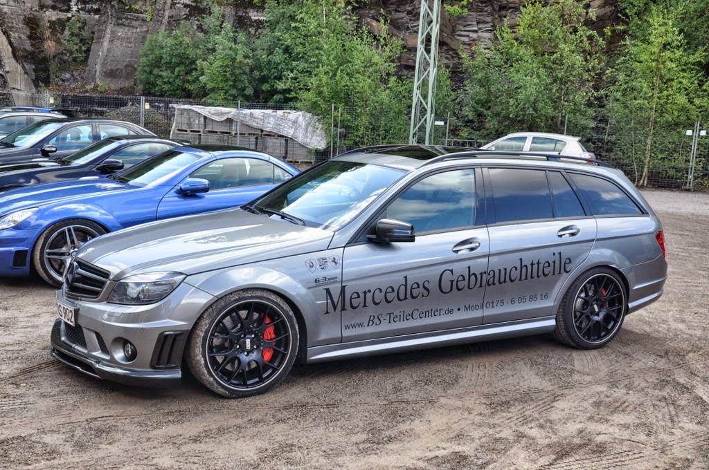 Benztuning Mercedes Benz C63s Amg S204