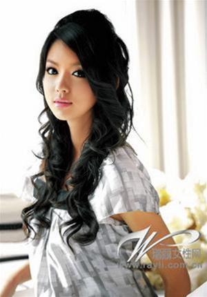 kieu toc hot nam 2011 la mot mau toc model duoc thuc hien bang cong