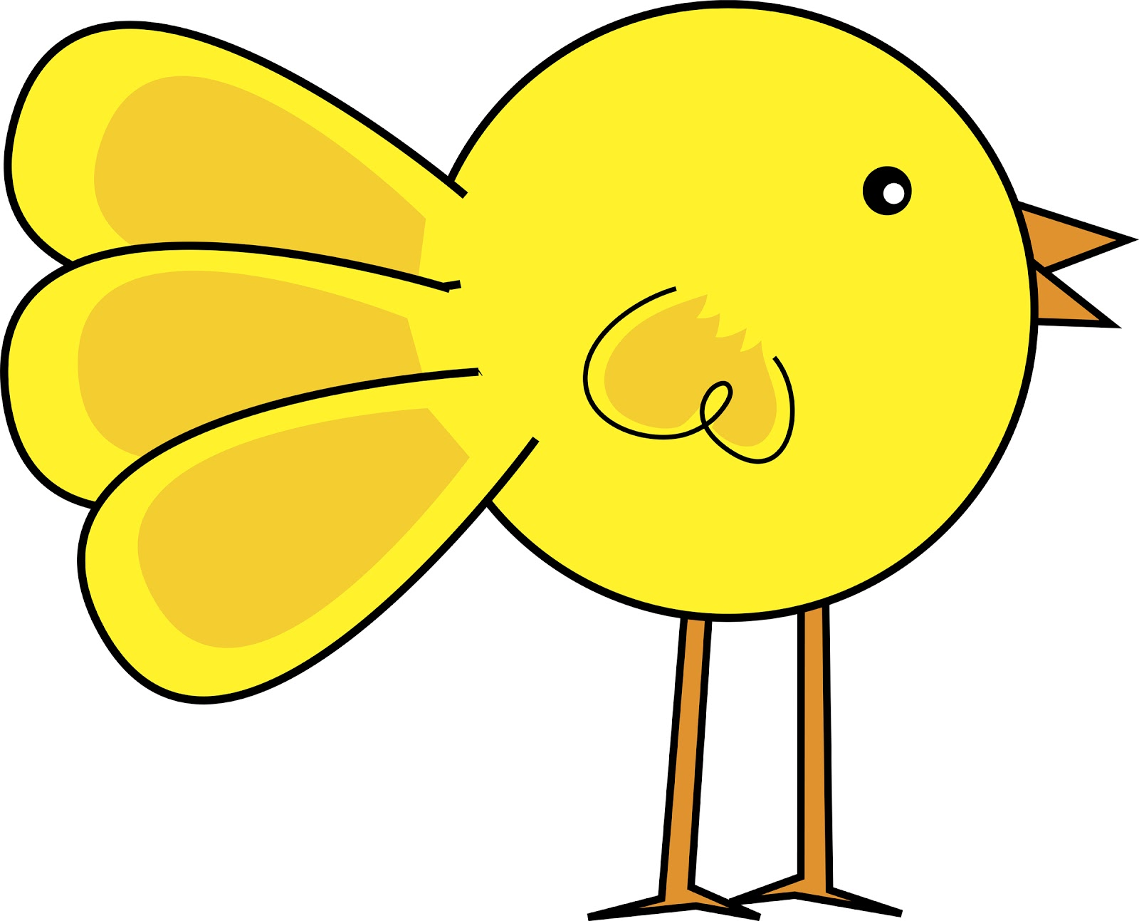 cartoon chicken clip art free - photo #38