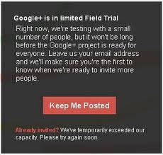 Cara Daftar Google Plus | Google +
